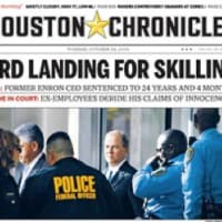 News_Houston Chronicle Skilling front page_June 2010