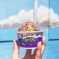 Amy's Ice Cream sprinkles