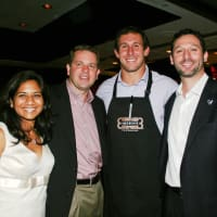 News_Owen Daniels_Catch a Dream_Nandita Berry_KTRH 740 afternoon anchor Michael Berry_Owen Daniels and Brad Marks