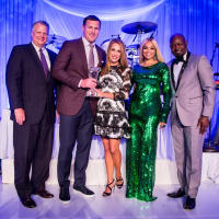 Robert McCormick, Jason and Michelle Witten, Pat and Emmitt Smith