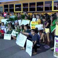 Santa Fe High School return to class support