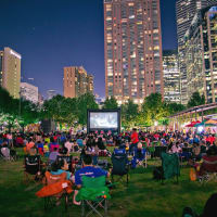 Discovery Green Screen on the Green outdoor movie