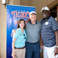 Amy Camp, Cliff Harris and Rayfield Wright