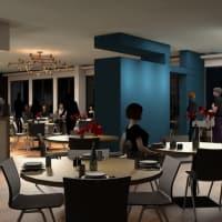 Harry's restaurant renovations rendering