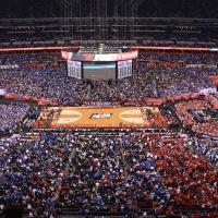 Final Four basketball court