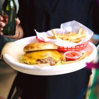 Chris Madrid's hamburger burger San Antonio