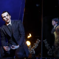 Bronson Norris Murphy and Meghan Picerno in Love Never Dies