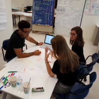 UTSA students working Urban Future Lab