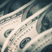 $100 bills money