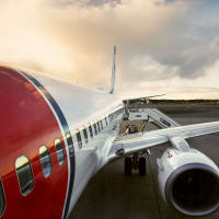 Norwegian Airlines airplane plane