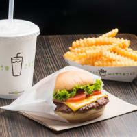 Shake Shack burger and fries