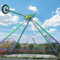 Fiesta Texas Joker Wild Card ride