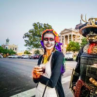 Georgetown Kicks Off Halloween
