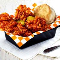 Drive-Thru Gourmet - KFC Hot Honey Chicken Tenders Basket