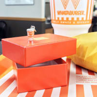 Whataburger James Avery charm
