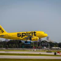 Spirit Airlines jet airplane plane