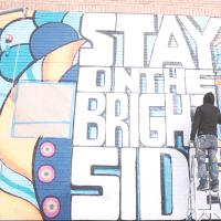 Frost mural Dallas Deep Ellum