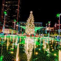 Sundance Square Plaza Christmas lights