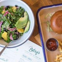 Betsy's bowl and burger