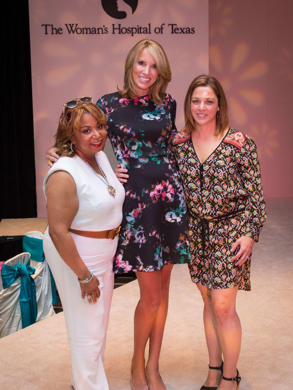 Women's Hospital Labor Day lunch, 8/16, Dr. Joanie Hare, Ilona Carson, Dr. Connie Faro