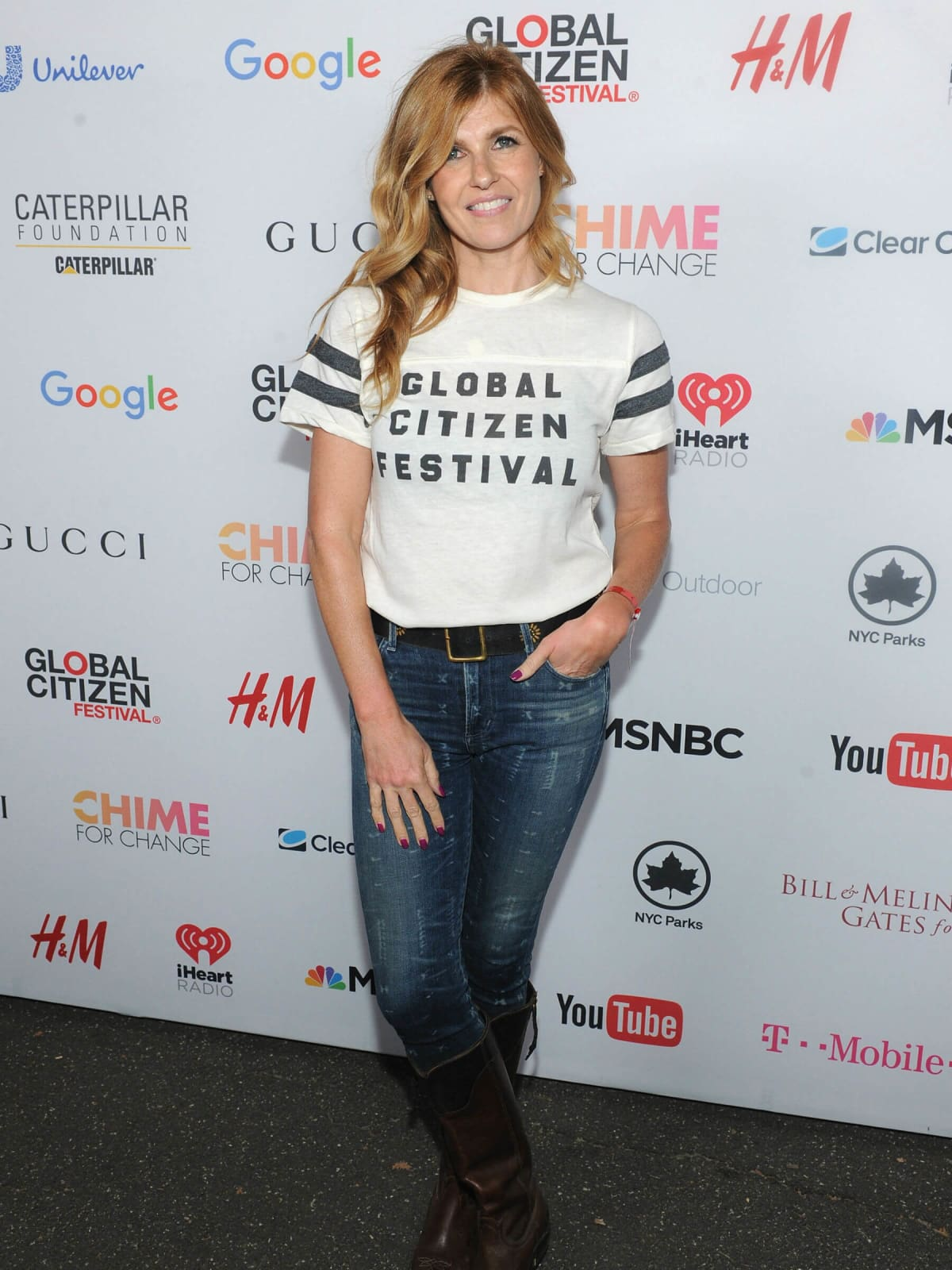 2015 Global Citizens Festival Connie Britton