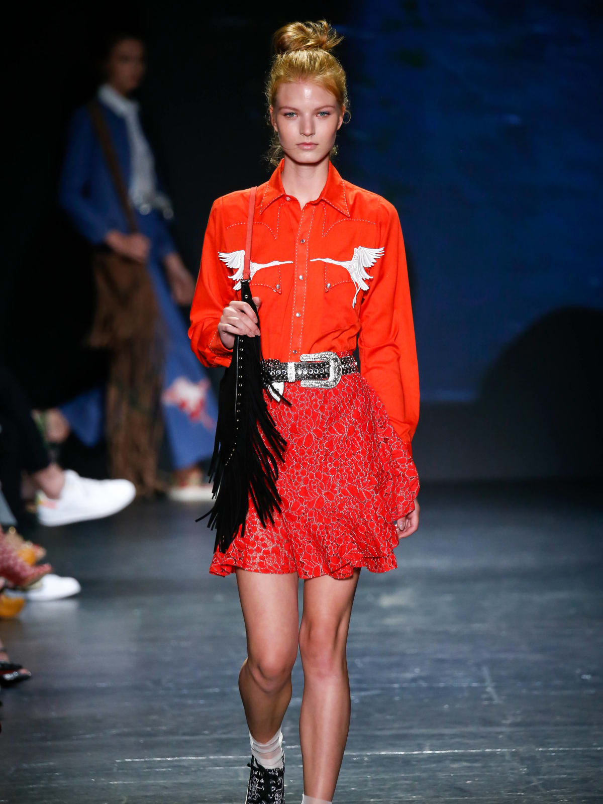 Vivienne Tam look 24 Houston collection