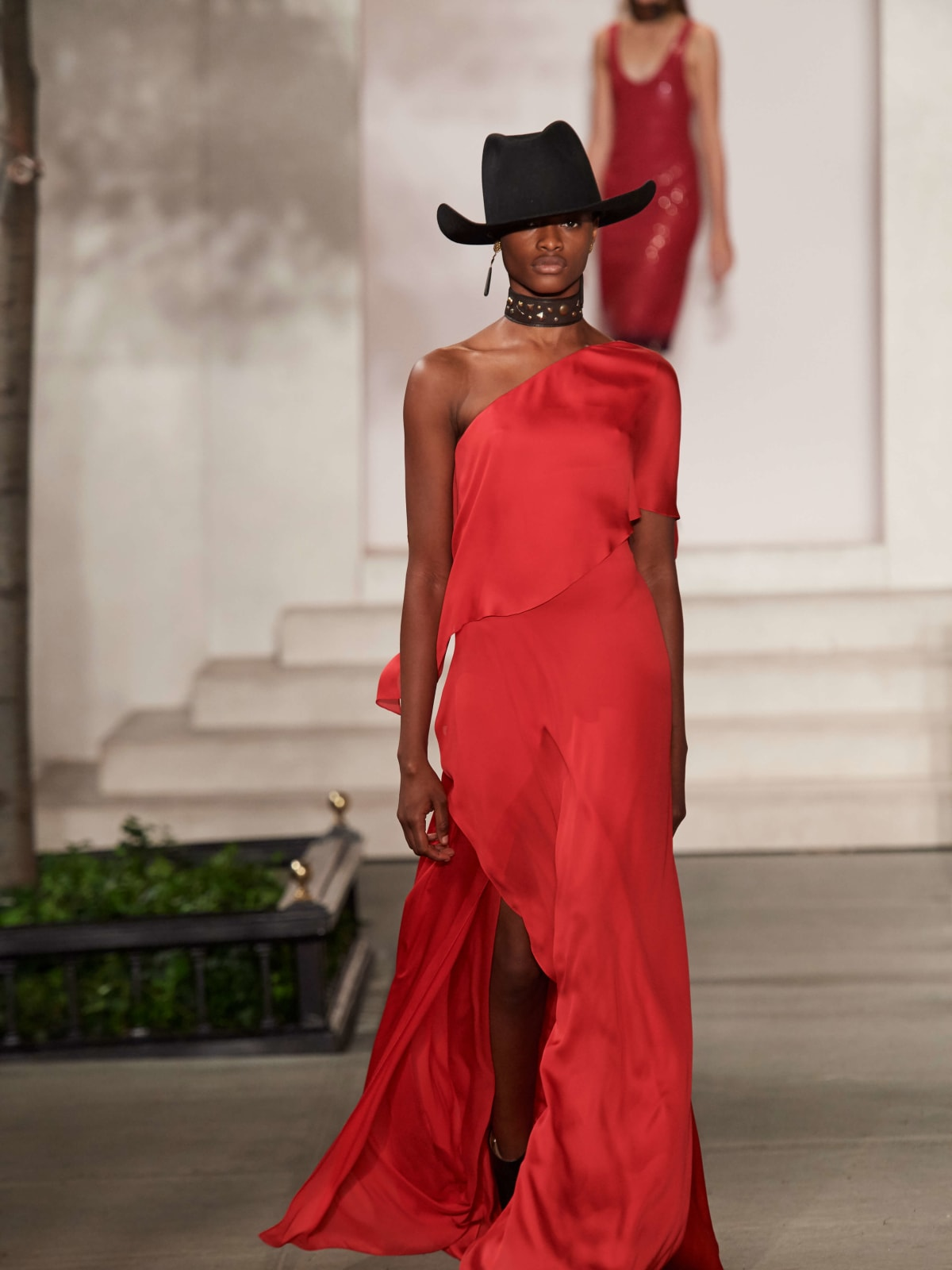 Ralph Lauren gown look 35