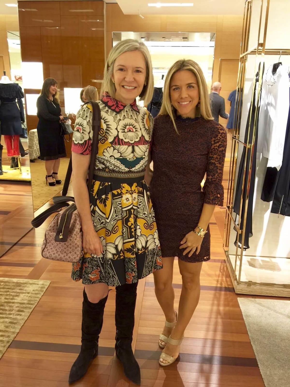 Vogue, Louis Vuitton lunch, 9/26 Katie Brass, Cara Crowley