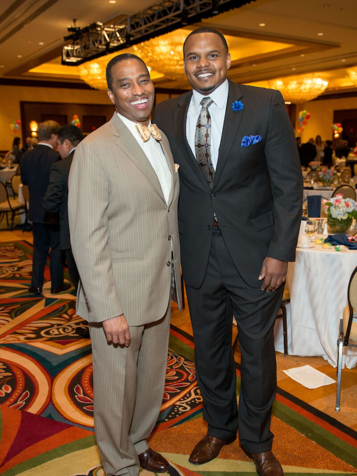 Boys & Girls Club dinner, 9/16 : Khambrel Marshall, Chester Pitts