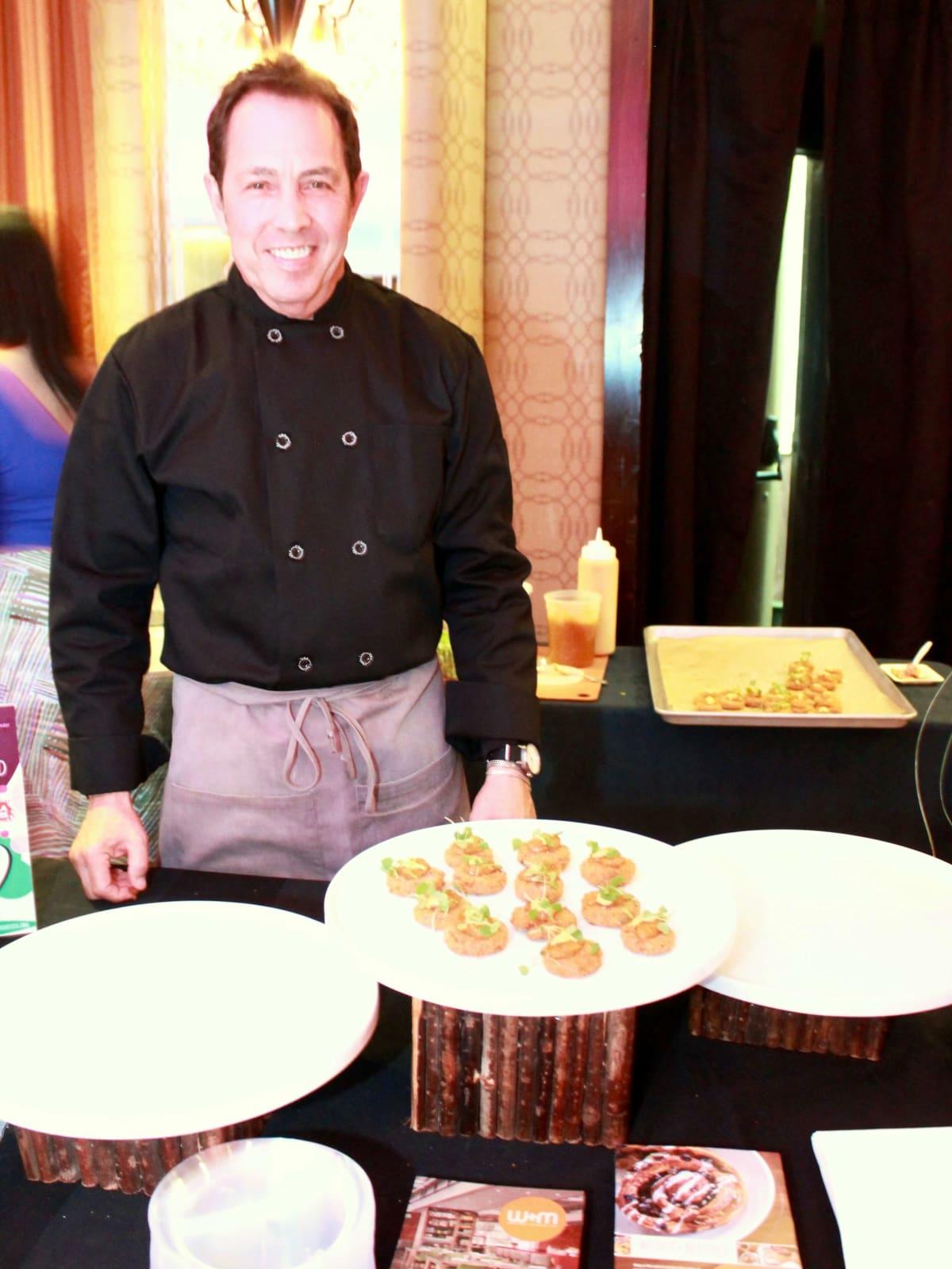 Chef Richard Kaplan at Recipe for Success Gala