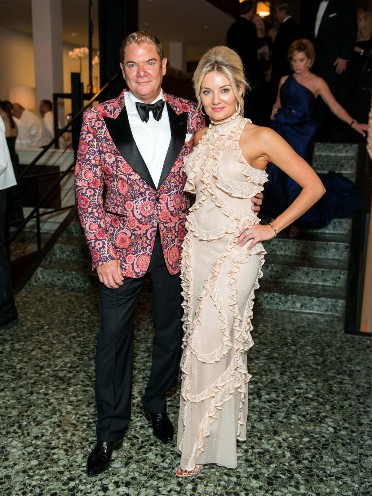 Fred Heredia, Cassidy York at Museum of Fine Arts Gala