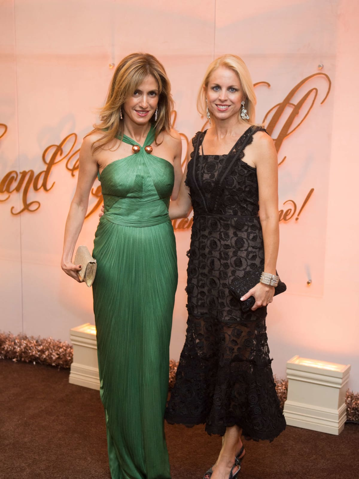 Sima Ladjevardian, Martha Britton at Museum of Fine Arts Grand Gala Ball