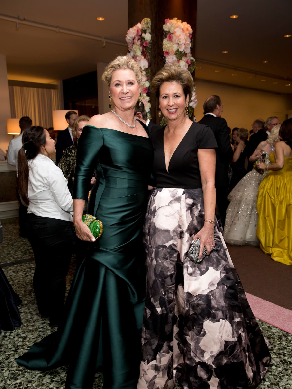 Carol Linn, Ileana Trevino at Museum of Fine Arts Grand Gala Ball