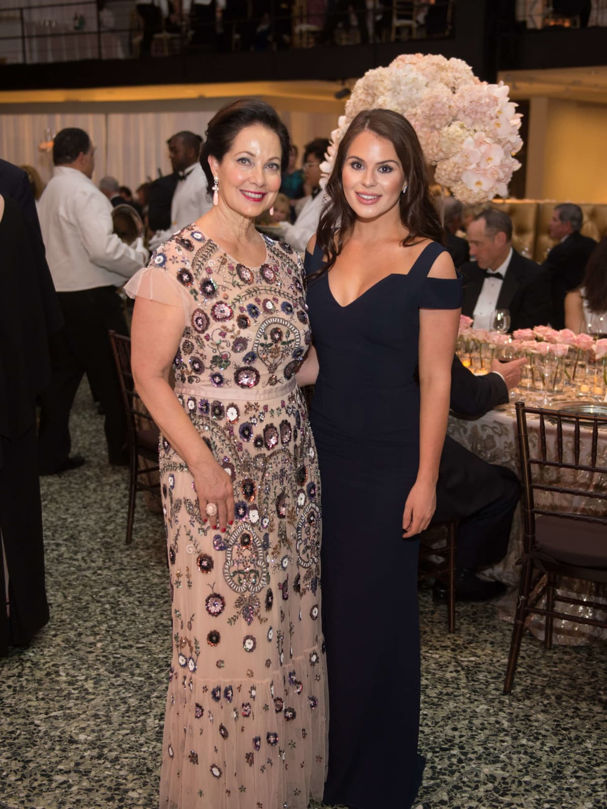 Karol Barnhart, Meredith Flores at Museum of Fine Arts Grand Gala Ball