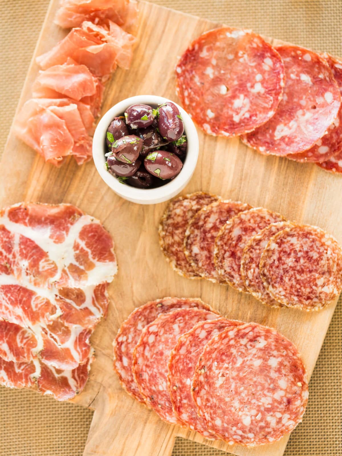 B&B Butchers charcuterie platter