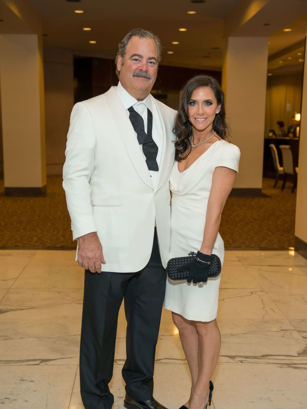 Cal McNair, Hannah McNair at Mission of Yahweh gala