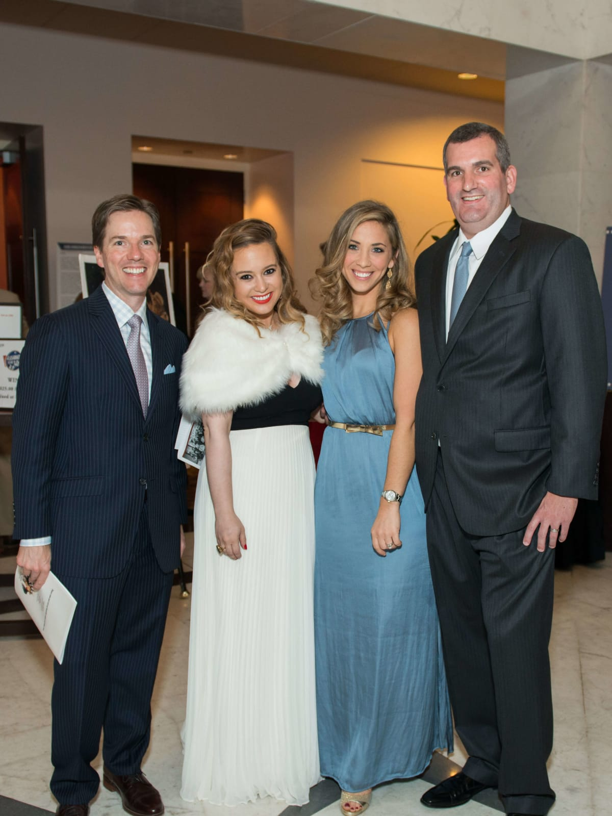 David Kennedy, Megan Blaisdell, Bethany Hibbetts, Matthew Hibbetts at Mission of Yahweh gala
