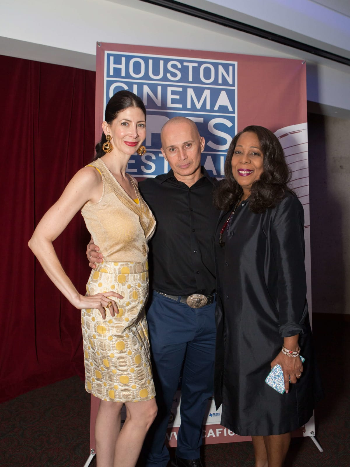 HCAF Kick-Off Party: Mykle Mccoslin, Giovanni Silva, Anita Long