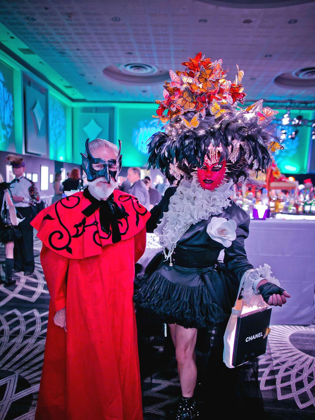 Michael Pilie, JMichael Soliz at Orange Show Gala