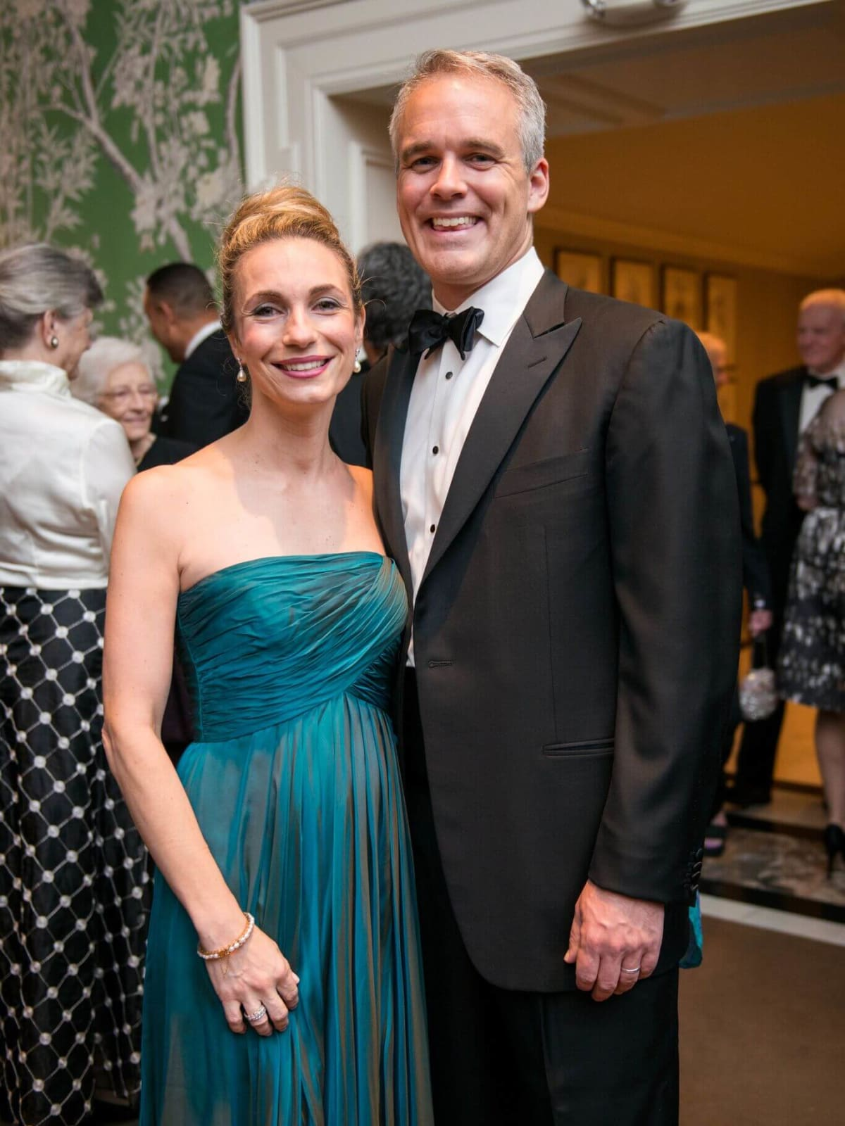 Collette Collins, Bob Collins at Rice Honors Gala