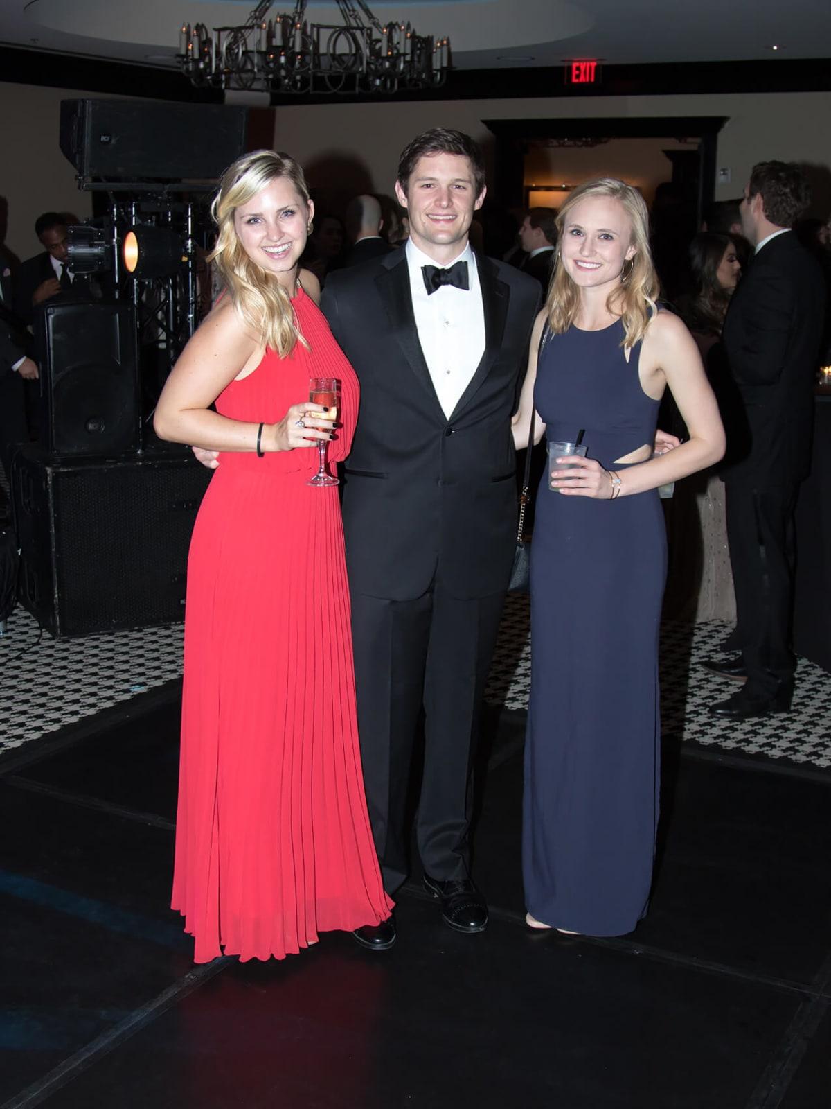 Sarah Williamson, Hayden Glasstetter, Kristen Luke
