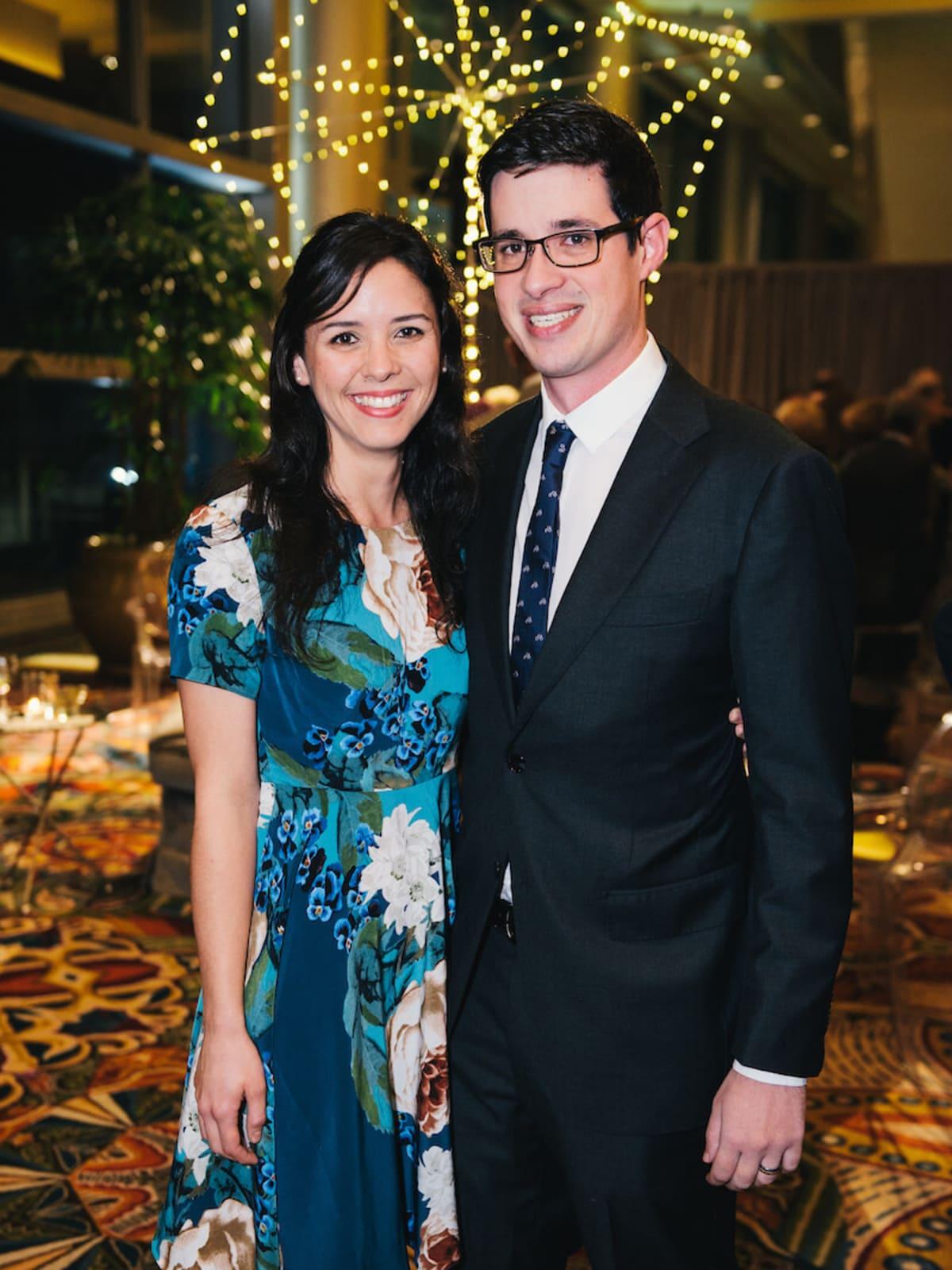 Lauren Richardson and Will Kornell at UTHealth Constellation Gala