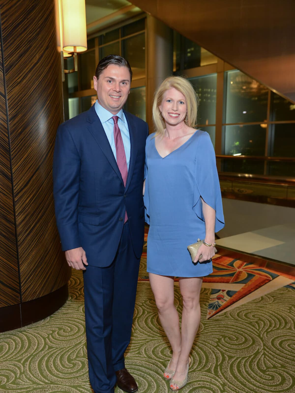 Collin and Jacquelyn Cox at UTHealth Constellation Gala