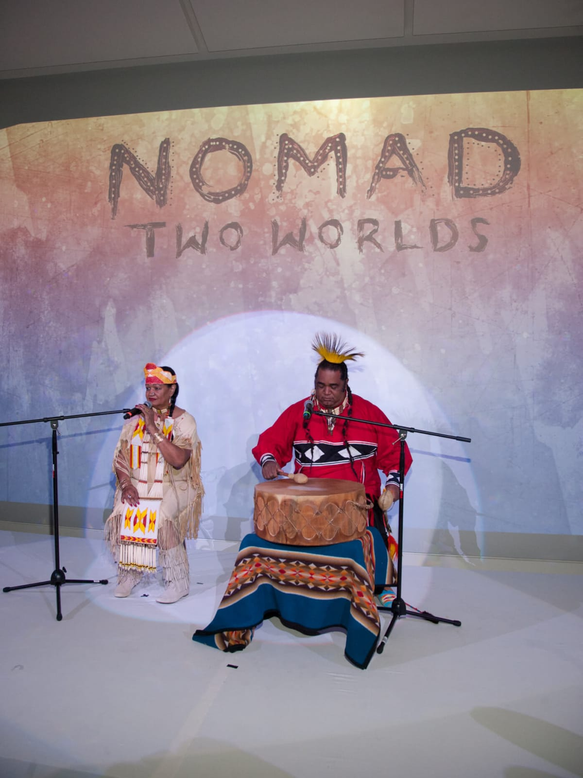 Kimboli Talking Medicine, Keito St. James at Nomad fundraiser