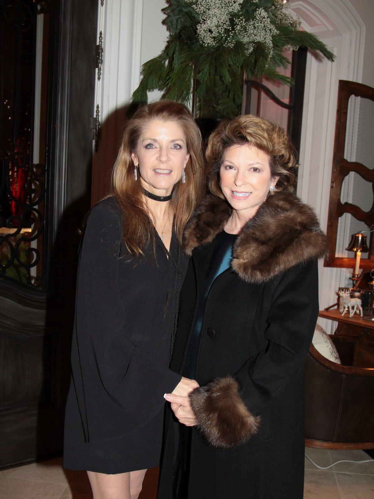 MD Anderson Santa's Elves party, Paige Fertitta, Diane Connally