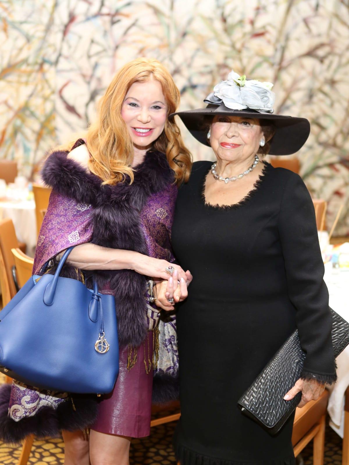 HGO Ball luncheon, March 2016, Cindi Rose, Olga Bush