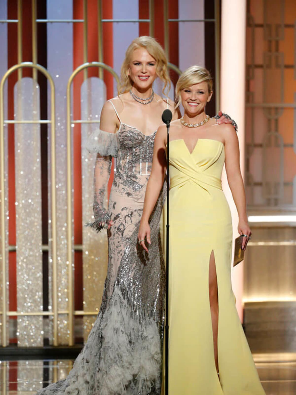 Nicole Kidman, Reese Witherspoon at Golden Globes