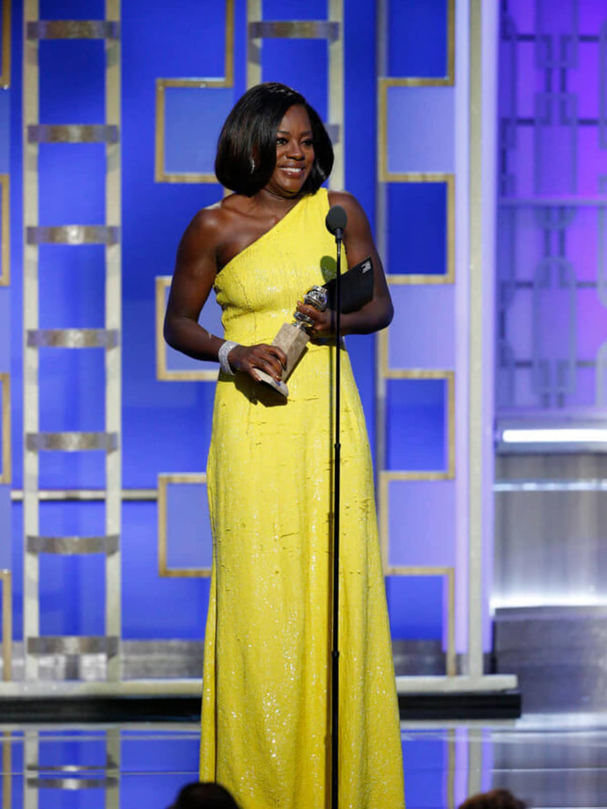 Viola Davis at Golden Globes 2017
