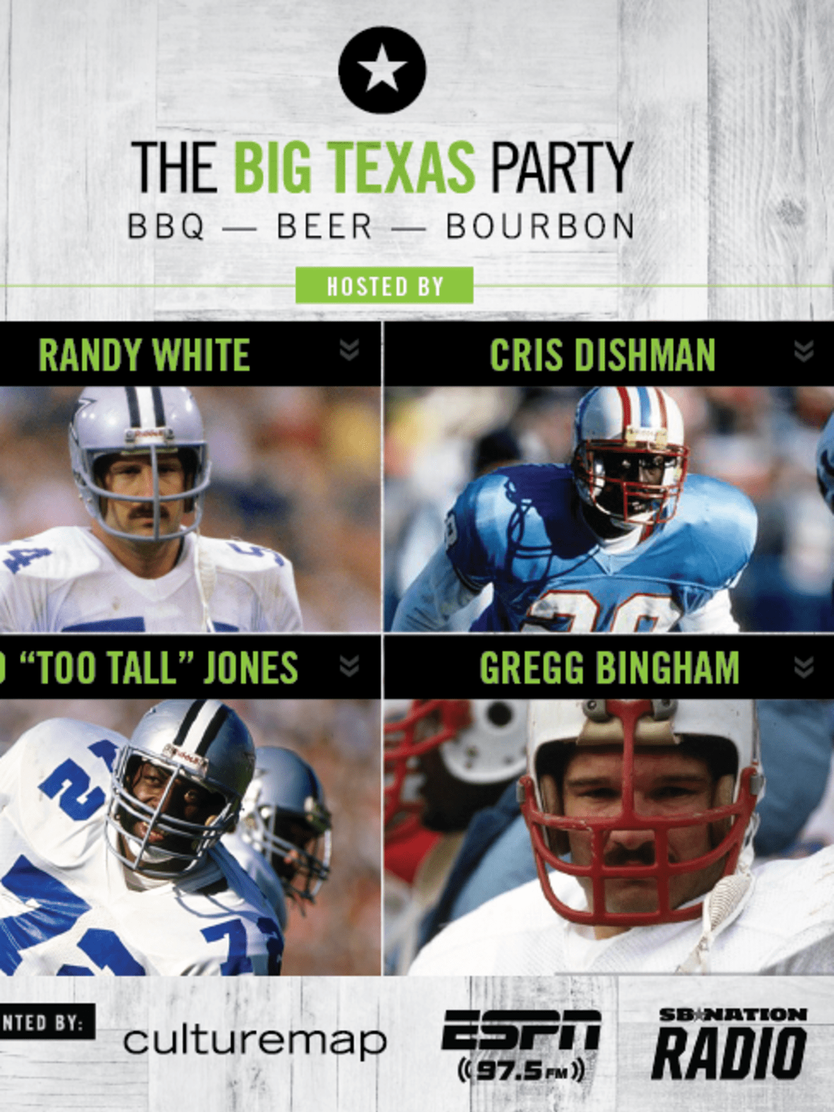 Big Texas Party hosts