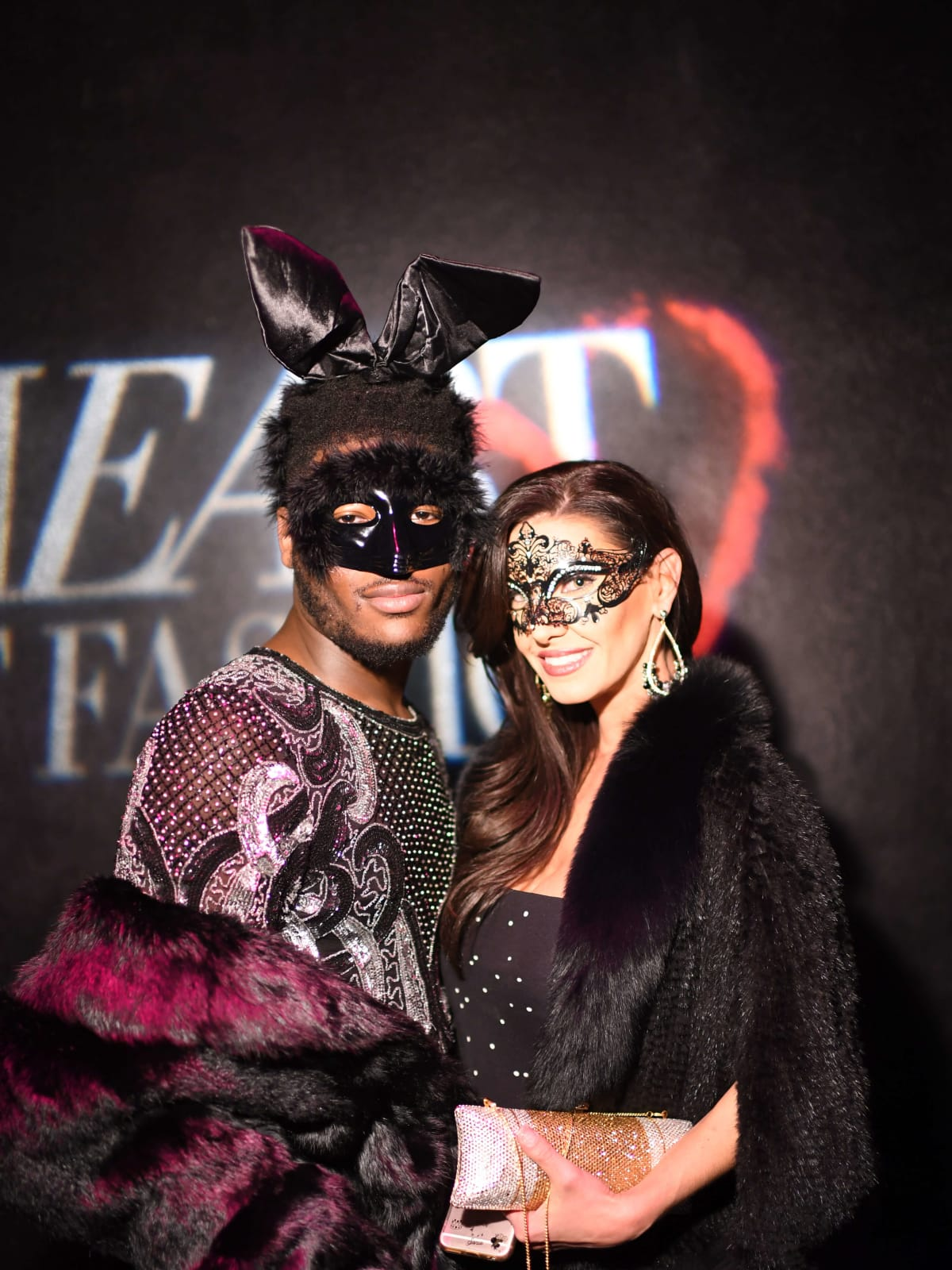 Heart of Fashion Masquerade Ball Joubaier Joubert, Nicole Lassiter